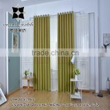 yarn dyed woven linen blackout ready made window curtain panel drapes for the living room