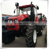 CE CCC ISO certification agricultural farm tractors 135hp 150hp with deutz and YTO engine