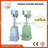 Low price drinking water manual can sealer, cat food manual can sealer, pet manual can sealer