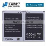 Wholesale China Manufactured Top Quality Replacement Mobile Phone Battery for Samsung S4 mini I9190 I9192 I9195 I9198