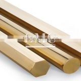 hexagonal brass bar stock