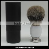 Acrylic Handle Shaving Brush Silver badger hair Shaving Brush Men Facial Beard Cleaning Shave Tool Shaving Razor Brush