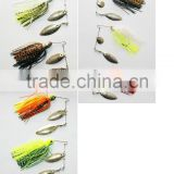 skirt spinner bait fishing lure molds