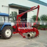 5T ATV log lader with trailer