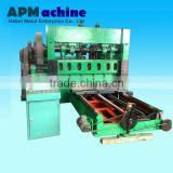 Decorative aluminum metal sheet expanding machine