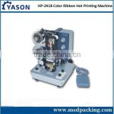 HP-241B Electric semi-auto hot ribbon coding machine, batch code printing machine, expiry date stamping printing machine