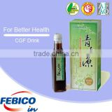 Wholesale Natural Boost Energy Herbal Liquid Clean Cracked Cell Wall Chlorella Growth Factor Drink