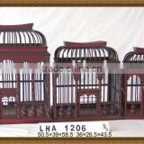 Decorative Bamboo,Wooden Bird Cage