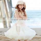Best-selling baby skirt chiffon table skirt newborn ruffled table skirt girls super fluffy pettiskirt