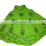latest design umbrella pattern and printed dress sexy beach dress