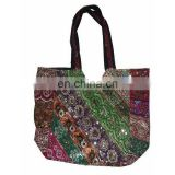 INDIAN ETHNIC EMBROIDERY TOTE SHOULDER BAG