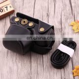 wholesale dropshipping Full Body Camera PU Leather Case Bag with Strap for Sony A6000 (Black)