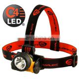 C4 LED Headlamp with AAA batteries
