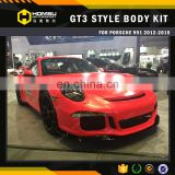 3 Swift Car Accessories bumper side skirt for tuning Body Kits 991 GT3 2012-2015