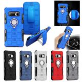 3 in 1 Magnet Supporter Ring Hybrid Shockproof Armor Stand Cover Case For Phones iphone7/8 pius