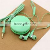 Earbuds 3.5mm Stereo Sound earbuds with Mic for all Apple iPads, iPhones, and for many cell Phone Models and Brands