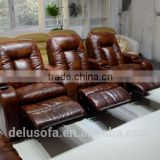 Modern Leather Sectional Power Recliner Sofa                                                                         Quality Choice