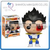 Mini Qute Funko Pop Anime Dragon ball Vegeta Goku super hero action figures cartoon models educational toy NO.FP 10