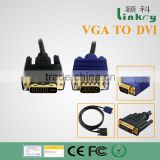 DVI to VGA cable for multimedia