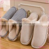 2015 New fashion ladies wool slippers indoor and outdoor comfortable warm cotton slippers