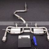 Catback exhaust muffler exhaust system for VW GOLF 7 VII