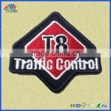 embroidery patch for garments , customized embroidery patch