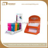 New design advertising corrugated displaying stand