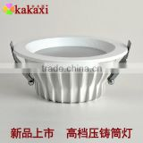 Dimmable Led Downlight 12w 18w 24w SMD5730 Round Die Casting LED Ceiling Lamp SpotLights