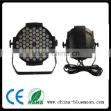 Black Lighting LED Lighting Fixture 72pcs*3w LED Lighting DMX Disco Party Club Par Outdoor Stage Light