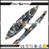 Cool kayak New designed fishing plastic kayak with high quality for sale rowing boat