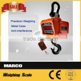 LCD display digital crane scale 5 ton