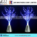 Decoration LED color changing fiber optic tree lamp