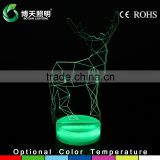 3d acrylic usb rechargeable night light baby with ce rohs certificate                                                                         Quality Choice