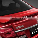 Hot Sell Car accessories rear aluminum car spoiler for HONDA CIVIC +L 06-11
