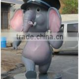 elephant statue decorative big sculpture for festival decor