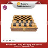 High quality new design custom wooden chess box                                                                         Quality Choice