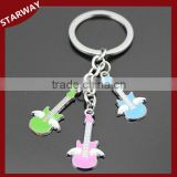 NEW arrival promotional gift metal new design guitar keyring/                                                                                                         Supplier's Choice