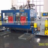 Lubricating oil bottle in mould labeling machines