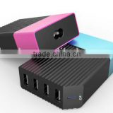 Desktop 4 Port Family USB Charger Power Bank