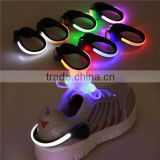 shoes clips led decoration flashing shoes clip night shoes clip led light