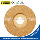 150mm(6'') Grinding Metal and Casting Parts Vacuum Brazed Diamond Grinding Wheel