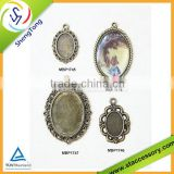 Photo Charm pendant Bronze Tone Charm Pendant for Jewelry Making Metal Pendants Findings