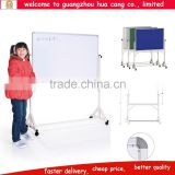 High quality white board stand, school white board decorations, sliding white board