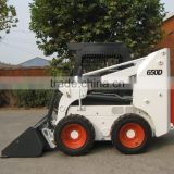 Bobcat 650KG skid steer loader with ISUZU engine, closed cab