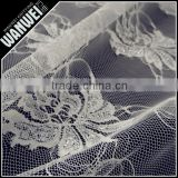 new crab flowers design style lace for skirts and dresses with 100% nylon lurex fabric
