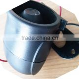 police car speaker klaxon horn for sale dc12v es-626 fire alarm black horn/ fire alarm speaker/ fire alarm black siren
