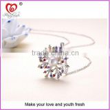 Latest fashion gift necklace most popular lady necklace factory direct sale lady necklace