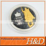 eye-catching custom military souvenir coin with portraits
