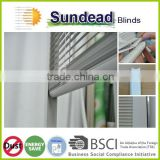 easy clean window office curtains and blinds blind inside double glass window cordless sliding magnetic tilt and lift system