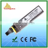 China Manufacturer SFP Transceiver 20KM Optical transceiver price single mode BIDI 1310nm / 1550nmv